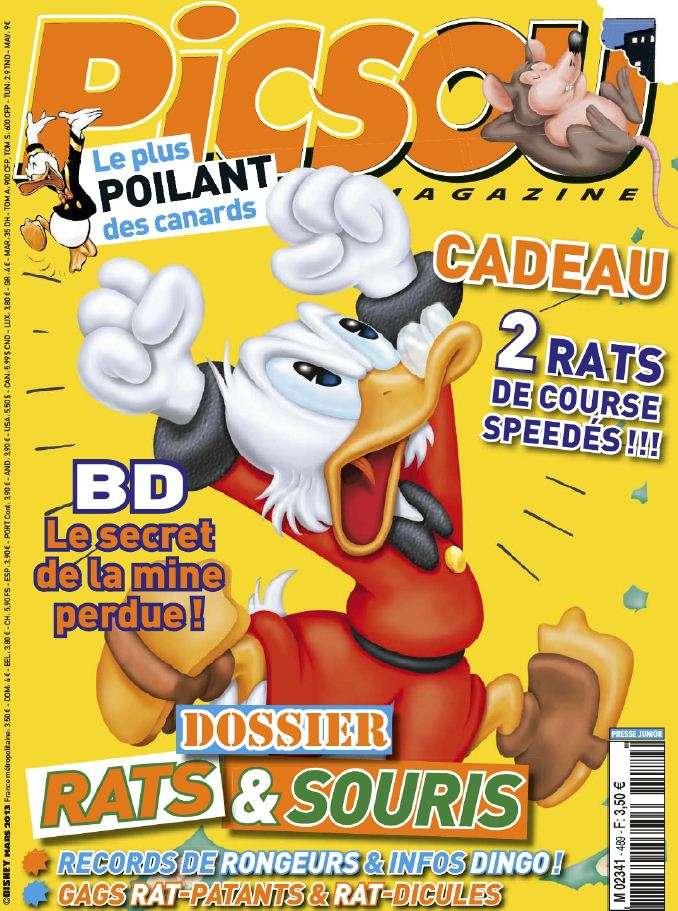 Picsou Magazine N°489 Mars 2013