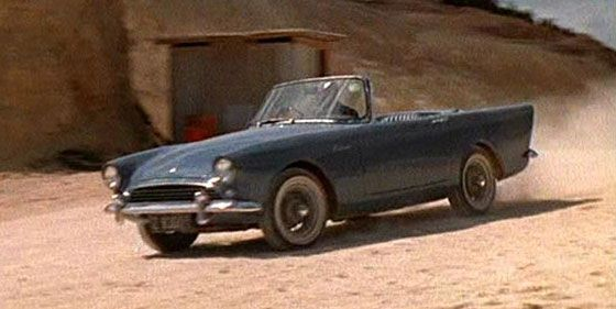 James Bond 007 Sunbeam Alpine