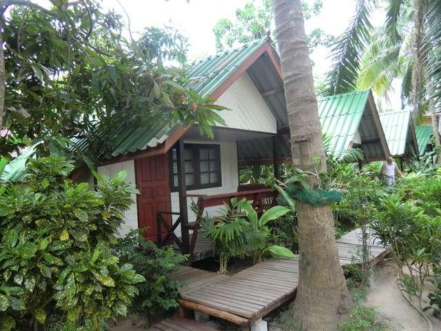 unser Hütte für 700 THB für die nächsten 2 Nächte