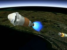 Image above: This is an artist&#39;s concept<br /> of Boeing&#39;s CST-100 spacecraft separating<br /> from the first stage of its launch vehicle,<br /> a United Launch Alliance Atlas V rocket,<br /> following liftoff from Cape Canaveral Air<br /> Force Station in Florida.<br /> Image credit: Boeing&nbsp;&nbsp;<br /> <a href='http://www.nasa.gov/images/content/739673main_Boeing-launch.jpeg' class='bbc_url' title='External link' rel='nofollow external'>� View Larger Image</a>